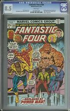 FANTASTIC FOUR #168 CGC 8.5 WHITE PAGES // THE WRECKER APPEARANCE