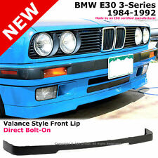 BMW E30 3-Series 84-92 OE Style PP Bumper IS Lower Valance Front Lip Spoiler