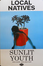 LOCAL NATIVES, SUNLIT YOUTH POSTER (K4)
