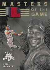 2016 Kirby Puckett Panini Diamond Kings Masters of the Game Patch 1/1