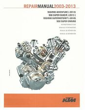 KTM service manual 2003, 2004, 2005, 2006, 2007, 2008 & 2009 990 SUPER DUKE R
