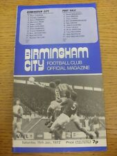 07/02/2006 Birmingham City v Reading [FA Cup] .  Any faults with this item will