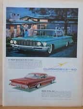 1959 magazine ad for Oldsmobile - 1960 Super 88 Holiday Sportsman, Scenicoupe