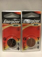 2 NEW GENUINE ENERGIZER CR2032 LITHIUM 3V BATTERY USA FREE SHIPPING