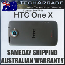 HTC One X Back Rear Housing Battery Cover Case Genuine Original S720E G23 Black