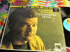 CONWAY TWITTY - GREATEST HITS - U.S. STEREO LP ---- K @@ L