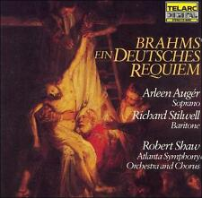 Brahms: Ein Deutsches Requiem (CD, 1984, Telarc) Japan Press - Richard Stilwell