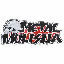 Metal Mulisha Skull Helmet Logo Biker Rocker Rockstar Racing Iron-On Patch #0793