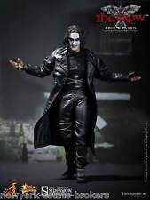 "Sideshow Hot Toys Exclusive The Crow Eric Draven 12"" Figure Brandon Lee FREE SHP"