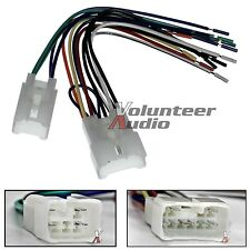 Toyota Scion Car Stereo CD Player Wiring Harness Wire Aftermarket Radio Install