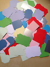 50 Gift Tags for Card Making / Scrapbooking / Craft Room Clear Out