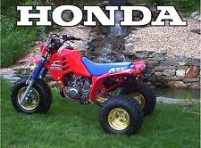 Honda ATC 250r 3-wheeler 18 x 24 poster    ATC250r ATC 250r
