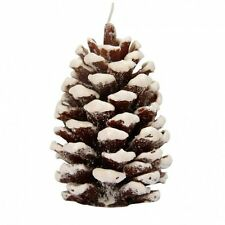 Christmas PINE CONE CANDLE By Alpine