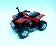 Quad ATV rouge avec Suspension