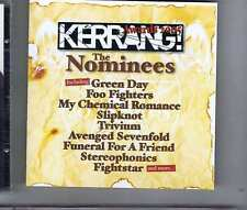 GREEN DAY / FOO FIGHTERS / MY CHEMICAL ROMANCE + Awards Nominees 2005 KERRANG CD