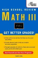 High School Math III Review (Review Smart)-ExLibrary