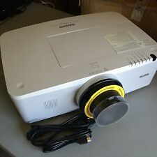 SANYO PLC-WM4500 LCD Projector, STANDARD LENS, 4500 LUMENS! 731 ORIGINAL HOURS!