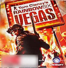 Tom Clancy's Rainbow Six: Vegas (Sony PlayStation 3, 2007)