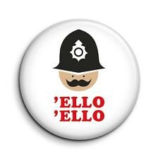 London Cockney Policeman 'Ello 'Ello Cute Funny 38mm/1.5 inch Button Magnet