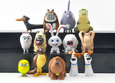 14pcs The Secret Life of Pets set play collectable figure toys