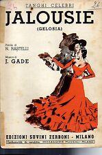 SC19 SPARTITO Jalousie (Gelosia) Rastelli-Gade