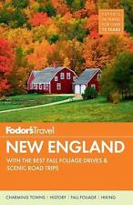 Full-Color Travel Guide: New England : With the Best Fall Foliage Drives and...