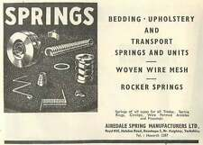 1953 Airedale Spring Manufacturers Royd Hill Oxenhope Ad