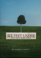 SIX FEET UNDER - Die komplette Staffel 2 - 5 DVD Box - 13 Episoden
