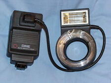 LESTER DINE NISSIN TTL MACRO RING POINT FLASH WITH PENTAX MODULE