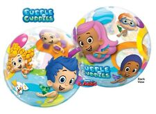 "NEW Bubble Guppies 22"" Qualatex BUBBLE Balloons Birthday Party Supplies~"