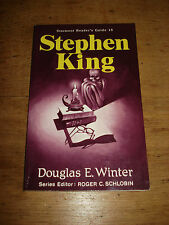 STEPHEN KING: STARMONT READER'S GUIDE 16,SIGNED COPY BY Winter, Douglas E.P/B