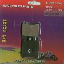 Yamaha Disc Brake Pads XN125N 2000-2003 Front (1 set)