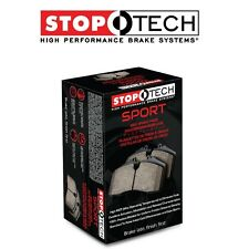 NEW Mazda 6 Lincoln MKZ Front Left and Right Sport Brake Pads StopTech 309.11640