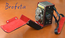 Brofeta Italy Rolleiflex 2.8GX TLR leather case/bag, camera bag/case Handmade.