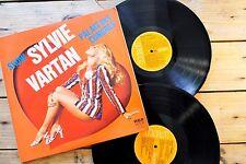 SYLVIE VARTAN PALAIS DES CONGRES 2 LP 33T VINYLE EX COVER EX 1976