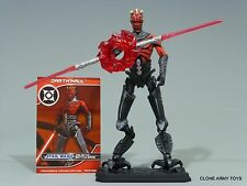 STAR WARS DARTH MAUL TARGET EXCLUSIVE SITH LORD RETURN CLONE CYBORG CW TCW LOOSE
