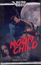 Moon Child (1994) VHS Vultra Video Todd Sheets SOV Low Budget VHSCU
