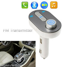 Wireless Bluetooth FM Transmitter MP3 Player Car Kit USB Charger Speakerphone