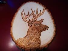 STAG DEER , Wood burning, AWESOME **SPECIAL** (DEE20152)
