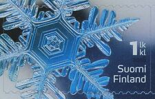 Finland 2016 MNH - Beautiful Hologram Snow Ice Crystal Stamp - Jan 22, 2016