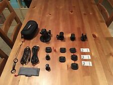 Replay XD1080 Accessory Lot (mounts, microphone adapter, cables)