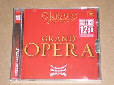 GRAND'OPERA (BIZET, VERDI, PUCCINI, BELLINI,ROSSINI) - CD SIGILLATO (SEALED)