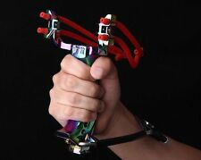 High Velocity Powerful Folding Wrist Brace Lock Rest Slingshot Hunting Catapult