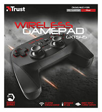 20491 gxt545 wireless TRUST 13 pulsante 2 JOYSTICK Ricaricabili Gamepad per PC ps3