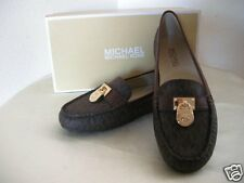 Authentic Michael Kors Hamilton Women's Driver Shoes Brown Size 7