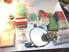 Small Engine Filters & Parts Lot Briggs & Stratton Rotary Champion Plugs   MS115