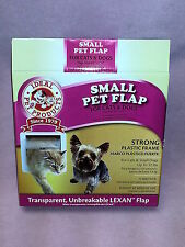 """Unbreakable LEXAN Locking Small Pet Flap Cats & Dogs Flap Size 6 1/4"""" Square"""