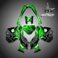 SKI-DOO REV XM SUMMIT SNOWMOBILE SLED GRAPHICS DECAL KIT WRAP GUARDIAN GREEN