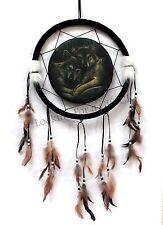 Loyal Companions wolves Dreamcatcher, dream catcher by Lisa Parker 33 cm