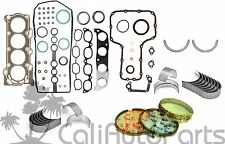00-08 Toyota Corolla Matrix 1.8L 1ZZFE DOHC GRAPHITE GASKET *ENGINE RE-RING KIT*